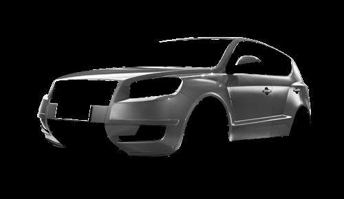 Цвета кузова GX7